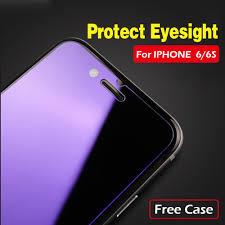 Anti Blue Light Screen Protector Iphone 6 Us 3 29 Anti Blue Light Tempered Glass Protector Film For Iphone 6s Screen Protector Glass For Iphone 6 Anti Blue Glass Protector 1case In Phone