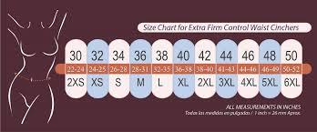 Assets Shapewear Size Chart Size Chart