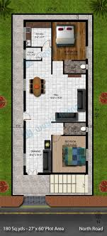 house plan 20 x 60 inspirational wonderful ideas 13 house plan design for 20x60 sq ft