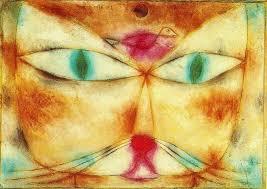 cat and bird 1928 paul klee