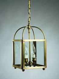 square corners hanging dark antique copper 2 candelabra sockets seedy marine glass