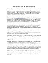 Apa Style Essay Example Medium Image For A Guide For Writing Style