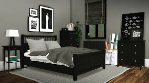Sims Bedroom Ikea Hemnes Bedroom By Mxims Teh Sims
