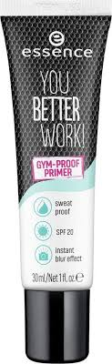 <b>Праймер для лица Essence</b> You better work! gym-proof, прозрачный