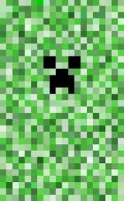 simple pixel minecraft creeper art print by mage lanz society6