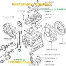 isuzu kc pacifier chain tensioner tck  isuzu 3kc1 pacifier chain tensioner