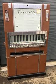 What Happened To Cigarette Vending Machines Mesmerizing National Cigarettes Vending Machine 48 Catawiki