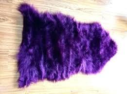 dark purple rug purple rugs for bedrooms dark purple rug dark purple thickness faux sheepskin rug