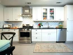 white glass tile backsplash large glass tile ideas size of small kitchen grey and blue tiles white glass tile