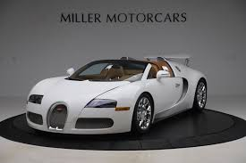 Price details, trims, and specs overview, interior features, exterior design, mpg and mileage capacity.bugatti veyron super sport models. Pre Owned 2011 Bugatti Veyron 16 4 Grand Sport For Sale Miller Motorcars Stock 7809