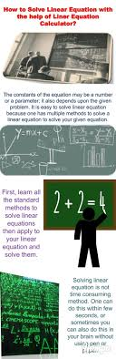 how to solve linear equation with the help of liner equation calculator with 16