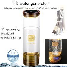 Hydrogen rich water generator Wireless transmission Hydrogen and ...