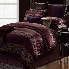 animal print king bedding sets 8pcs safari bed duvet cover curtains within with plan 5