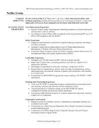Police Sample Resume Police Officer Sample Resume Sample Resume Police Officer Cover 16
