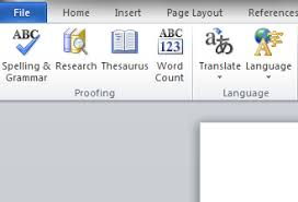 Using Microsoft Word To Check French Spelling And Grammar