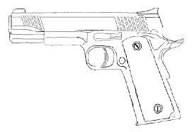 Gun Coloring Pages Printable Free Nerf Menotomyme
