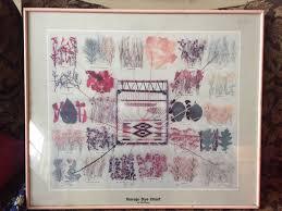 Navajo Dye Chart Navajo Dye Chart By Ella Meyers For Sale In Portland Or