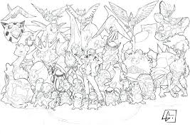 All Pokemon Coloring Pages All Coloring Pages Engaging Color Online
