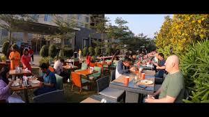 exclusive garden city breakfast at courtyard by marriott bengaluru