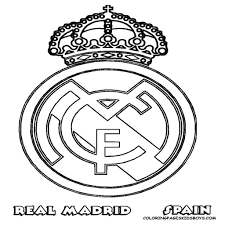 Kleurplaat Voetbal Logo Barcelona Pertaining To Barcelona Logo