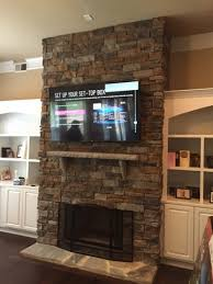tv wall mounting charlotte nc hdtv mounting on stone mounting flat screen tv over brick fireplace mounting flat screen tv on stone fireplace