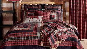 bed tartan plaid bedding interior by plaid berland red new from an bedding toddler loft