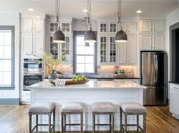 best white kitchens white cabinets with black appliances pictures