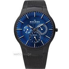 """men s skagen aktiv titanium watch 809xltbn watch shop comâ""""¢ mens skagen aktiv titanium watch 809xltbn"""