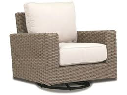 rattan wicker swivel rocking chair outdoor