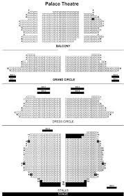 Victoria Palace Seating Chart Palace Theatre London Seat Guide And Chart