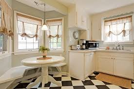 bay window seating in kitchen bay window seat