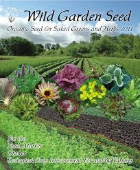 garden seed catalogs. Wild Garden Seed Catalog: 2011 Catalogs E