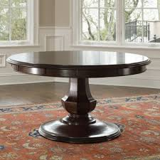 round pedestal dining table brownstone sienna round dining table love that it has leaves gpgyfvm