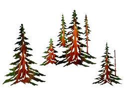 14 16 18 pine trees metal wall art by neil rose set of 3 on neil rose metal wall art with 14 16 18 pine trees metal wall art by neil rose set of 3