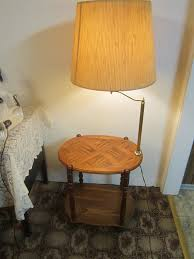 awesome end table lamps lamp combo lighting and ceiling for with regard to plans 12