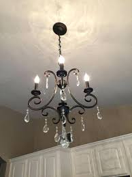 small bronze chandelier bay 4 light oil rubbed bronze crystal small chandelier at the home depot