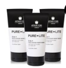 Deals on Arthur Ford Pure Lite 3- In -1 Face Wash-scrub-mask 150ML |  Compare Prices & Shop Online | PriceCheck