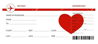 Play Ticket Template Fake Airline Ticket Template Free Printable
