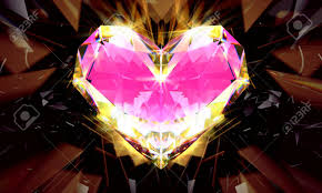 light pink diamonds background. Exellent Diamonds Realistic Pink Diamond With Strong Caustic Light On Black Background Stock  Photo  106087750 For Light Pink Diamonds Background I