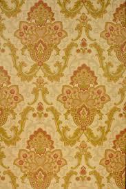 Geel Barok Behang Vintage Wallpapers