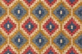waverly geo diamond printed cotton dry fabric in navy 4 95 per yard