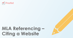Mla Brackets Mla Referencing Citing A Website Writing Tips From Proofed