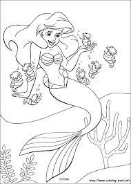 Little Mermaid Printable Coloring Pages Starscarletinfo