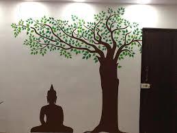 33 buddha wall decals meditation circle bamboo yoga reed buddhism mural art wall decal mcnettimages com