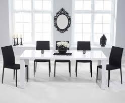 Esszimmer Möbel Schwarz Und Weiß Esszimmer Tisch Und Stühle
