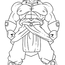 Dragon Ball Super Coloring Pages With Free Printable Dragon Ball Z