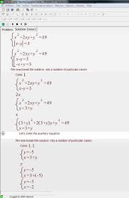 free universal algebra equation solver editor s review