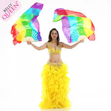 fan veils belly dance. belly dance silk fan veil forladies (right +left) veils d