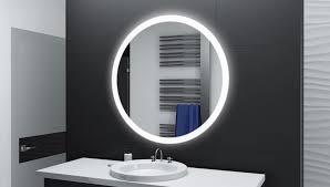 Runder Badspiegel Mit Led Beleuchtung Amir Glaswerk24