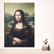 large sizes wall art wall decor mona lisa custom portrait original oil painting print for wall